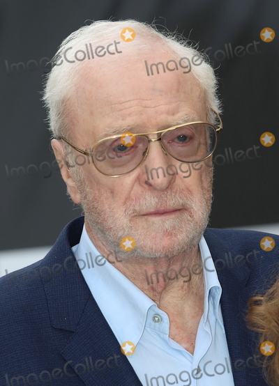Michael Cain, Michael Caine, Sir Michael Caine, Michael Bublé, Michael Paré, Leicester Square Photo - London, UK. Sir Michael Caine  at King of Thieves World Premiere at Vue West End, Leicester Square, London on Wednesday 12 September 2018