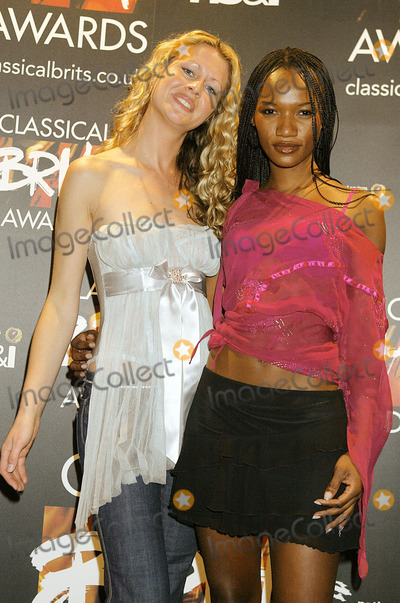 Amici Forever, Jade Adams Photo - London. Amici Forever at the 'Cassical Brits' Press Nominations at the Landmark Hotel in London. 21st April 2004. pictures by JADE ADAMS/LANDMARK MEDIA LMK