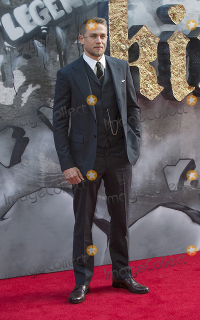 Charlie Hunnam, The Sword, Gary Mitchell Photo - London, UK. Charlie Hunnam at the European premiere of 'King Arthur: Legend of the Sword' at Cineworld Empire on May 10, 2017 in London, United Kingdom.Ref: LMK386-J285-110517Gary Mitchell/Landmark MediaWWW.LMKMEDIA.COM