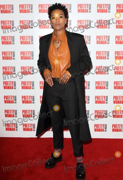 Genesis Lynea, Genesis Photo - London, UK. Genesis Lynea  at Pretty Woman The Musical - Press Night, at the Piccadilly Theatre, London on March 2nd 2020.Ref: LMK73-J6306-020320Keith Mayhew/Landmark MediaWWW.LMKMEDIA.COM