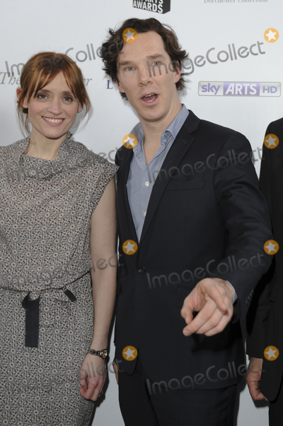 Benedict Cumberbatch, Anne Marie, Anne Marie Duff, Anne-Marie Duff, Ann Marie, Gary Mitchell, Teairra Marí Photo - London, UK. Anne-Marie Duff and Benedict Cumberbatch at The South Bank Sky Arts Awards 2013, held at the Dorchester Hotel, Park Lane. 12th March 2013.Gary Mitchell /Landmark Media