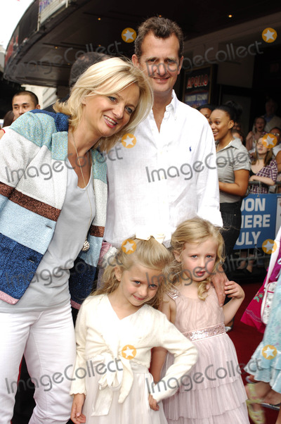 Alice Beer Photo - London, UK. Alice Beer and family attending the musical press night for the 'High School Musical' Live On Stage at the Hammersmith Apollo, West London. UK. 5th July 2008.