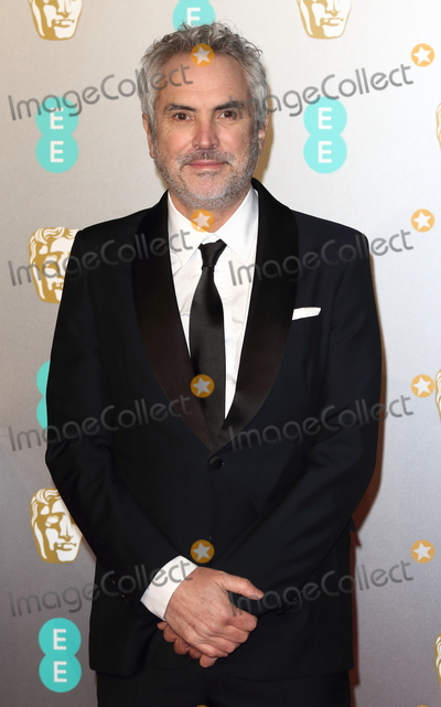 Alfonso Cuaron, Albert Hall, Alfonso André Photo - London, UK. Alfonso Cuaron at EE British Academy Film Awards at the Royal Albert Hall, Kensington, London on Sunday February 10th 2019Ref: LMK73-J4345-110219Keith Mayhew/Landmark Media. WWW.LMKMEDIA.COM.