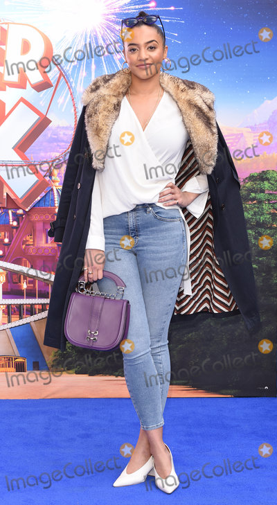 Amal Fashanu, Leicester Square Photo - London, UK Amal Fashanu at Wonder Park Gala Screening held at Vue, Leicester Square, London on Sunday 24 March 2019 