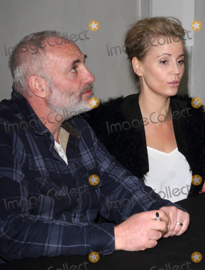 Kim Bodnia, Sofia Helin Photo - London. UK. Kim Bodnia and Sofia Helin (The Bridge)  at the  Nordicana 2014 at Old Truman Brewery, London. The event is a weekend celebration of television and film created  by the Scandinavian nations of Norway, Denmark, Sweden and Iceland - also known as Nordic Noir. 1st February 2014.  Ref:LMK73-40545-020214. 