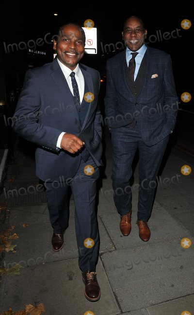 Ainsley Harriott Photo - London UK. Ainsley Harriott (R)     at the Legends of Football 23rd Annual Football Awards gala 2018, Grosvenor House Hotel, Park Lane, London, England, UK, on Monday 08 October 2018. 