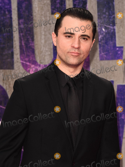 Darius Campbell Photo - London, UK. Darius Campbell at the European Premiere of 'Suicide Squad' at the Odeon Leicester Square, London on August 3rd 2016