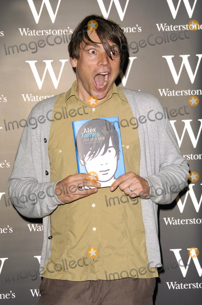 Alex James, Book Signing Photo - London. UK. Alex James at the book signing session held at Waterstones in Oxford Street. 10th July 2007.
