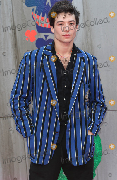 Ezra Miller Photo - London, UK. Ezra Miller at the European Premiere of 'Suicide Squad' at the Odeon Leicester Square, London on August 3rd 2016