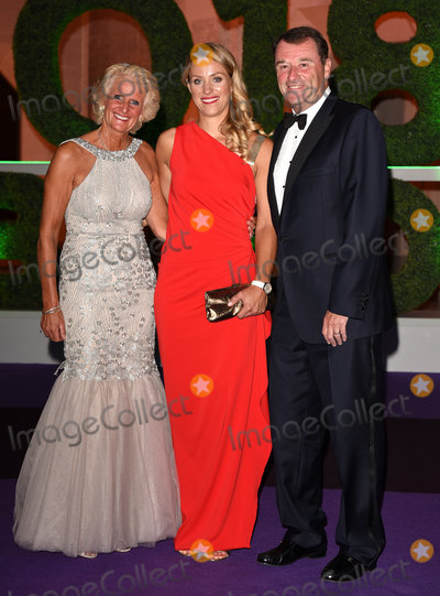 Angelique Kerber Photo - London, UK. Gill Brook, Angelique Kerber, Philip Brook at The Wimbledon Champions Dinner held at  Guildhall, Gresham Street, London on Sunday 15 July 2018