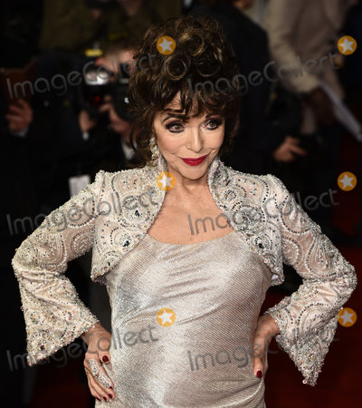 Joan Collins Photo - London, UK. Dame Joan Collins  at The Time Of Their Lives Premiere held at Curzon Mayfair, Mayfair, London on Wednesday 8 March 2017 Ref: LMK392-63082-090317Vivienne Vincent/Landmark Media. WWW.LMKMEDIA.COM.