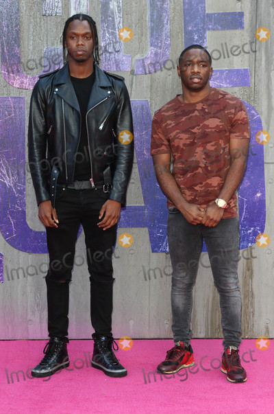 Photo - London, UK. Krept and Konan at the European Premiere of 'Suicide Squad' at the Odeon Leicester Square, London on August 3rd 2016