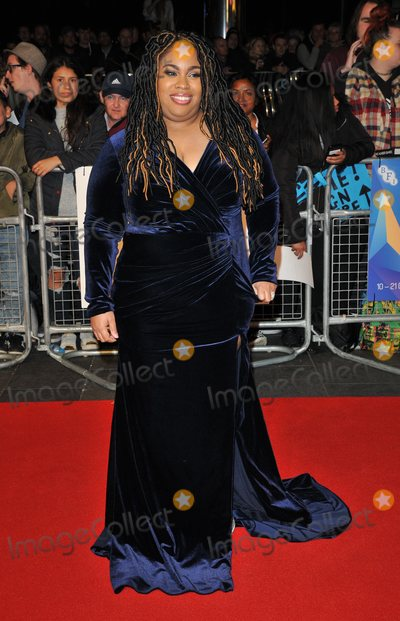 Angie Thomas, The Specials, Leicester Square Photo - London. UK.  Angie Thomas   at  the Special Presentation and European Premiere of 'The Hate U Give'  at The 62nd BFI London Film Festival at Cineworld, Leicester Square, London, England, UK on Saturday 20 October 2018. Ref:  LMK315-S1697-211018Can Nguyen/Landmark MediaWWW.LMKMEDIA.COM