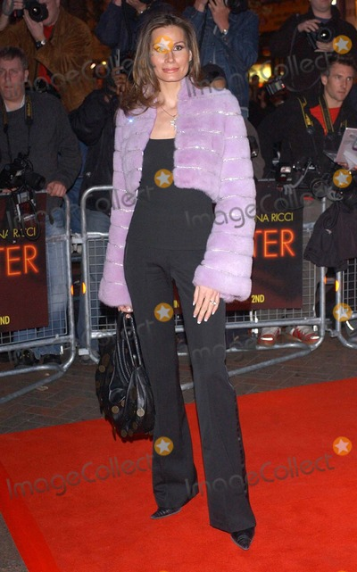 Photo - London. Isabelle Christensen arriving at the UK Gala Premiere of 'Monster', at the Vue Cinema, formerly Warners West End.31 March 2004.Matti Ericsson/Landamark Media
