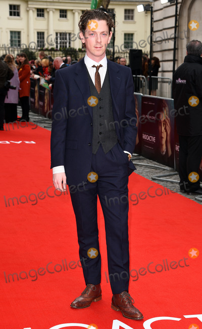 Edward Davis Photo - London, UK Edward Davis at Radioactive UK Premiere held at Cuzon Mayfair, London on Sunday 8 March 2020 Ref: LMK392-2982-080320Vivienne Vincent/Landmark Media. WWW.LMKMEDIA.COM.