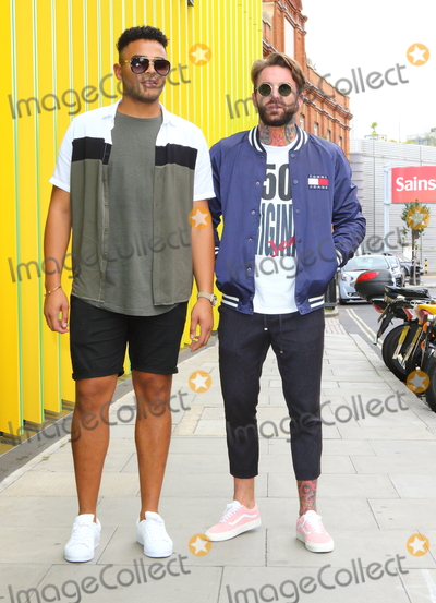 Geordie, Chloe Ferry, Nathan Henry, Aaron Chalmers Photo - London.UK. Nathan Henry and Aaron Chalmers  at 