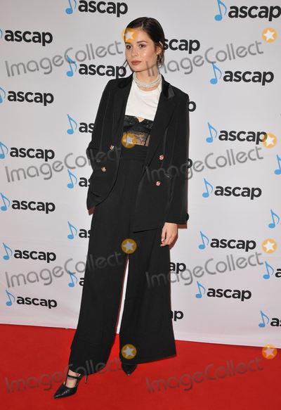 Nina Nesbitt Photo - London, UK. Nina Nesbitt at the ASCAP Awards London 2017, One Maylebone, Maylebone Road, London, England, UK, on Monday 16 October 2017.Ref: LMK315-J937-171017CAN NGUYEN/Landmark MediaWWW.LMKMEDIA.COM.