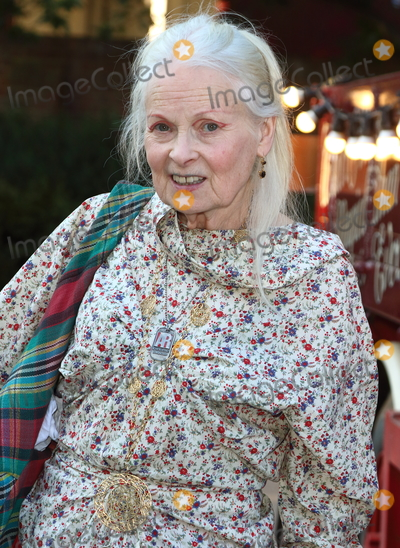 Vivienne Westwood, Dame Vivienne Westwood Photo - London.UK. Dame Vivienne Westwood   at the Giffords Circus Press Night at the Chiswick House and Gardens, Chiswick, London.  28th June 2018