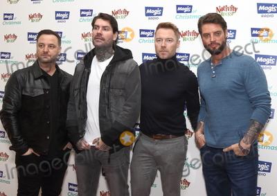 BoyZone Photo - London, UK. Boyzone at The Magic of Christmas at The London Palladium, Argyll Street, London on Sunday 25 November 2018.Ref: LMK73-J3022-261118Keith Mayhew/Landmark MediaWWW.LMKMEDIA.COM