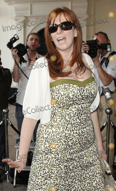 Catherine Tate, Mark Andes, Covent Garden Photo - London .UK. Catherine Tate attends preview of 'Marks and Spencer' department store's Autumn/Winter 2007 collection held at The Piazza in Covent Garden, Central London .24th May 2007.Ali Kadinsky/Landmark Media