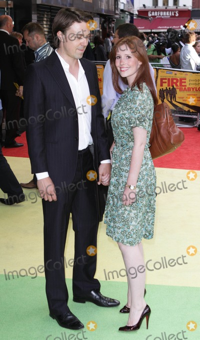 andrew buchan, Amy Nutall, Leicester Square Photo - London, UK. Andrew Buchan and Amy Nutall at the European premiere of Fire in Babylon at Odeon Leicester Square