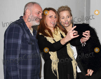 Kim Bodnia, Sofia Helin Photo - London. UK. Kim Bodnia and Sofia Helin (The Bridge) with fan  at the  Nordicana 2014 at Old Truman Brewery, London. The event is a weekend celebration of television and film created  by the Scandinavian nations of Norway, Denmark, Sweden and Iceland - also known as Nordic Noir. 1st February 2014.  Ref:LMK73-40545-020214. Keith Mayhew/Landmark MediaWWW.LMKMEDIA.COM.
