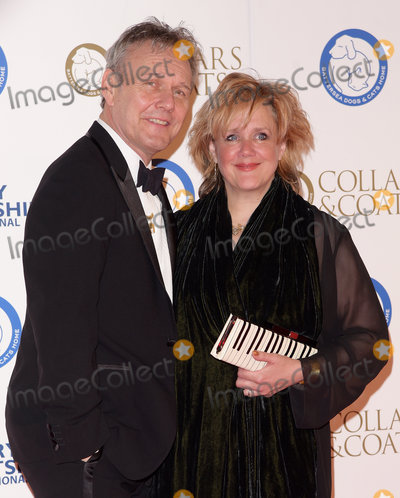 Anthony Head, Sarah Fisher Photo - London, UK. Anthony Head and Sarah Fisher at Battersea Dogs and Cats Home's Annual Collars and Coats Gala Ball at Battersea Evolution, Battersea Park, London on Thursday 12 November 2015.