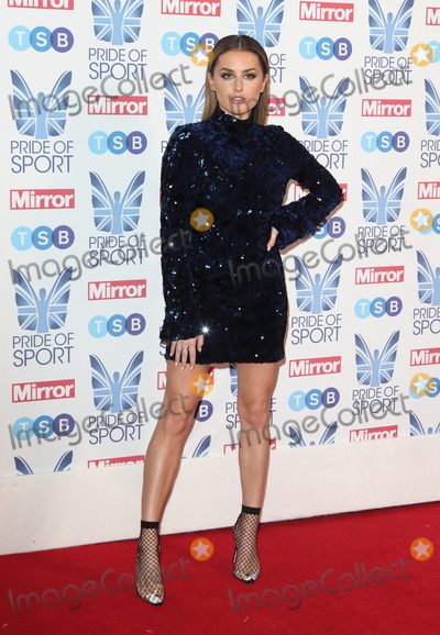 Amber Davies Photo - London, UK.  Amber Davies at The Mirror Pride of Sport Awards at Grosvenor House, Park Lane, London on Thursday 06 December 2018