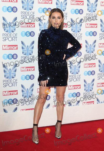 Amber Davies Photo - London, UK.  Amber Davies at The Mirror Pride of Sport Awards at Grosvenor House, Park Lane, London on Thursday 06 December 2018Ref: LMK73-J4001-071218Keith Mayhew/Landmark MediaWWW.LMKMEDIA.COM