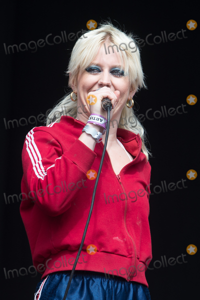 Amy Taylor Photo - London, UK. Lead singer Amy Taylor of Australian band Amyl and the Sniffers performs on The East Stage at The All Points East Festival. 25th May 2019. 