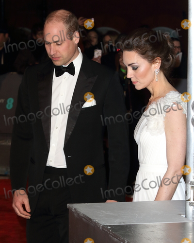 Albert Hall Photo - London, UK. Duke and Duchess of Cambridge at EE British Academy Film Awards at the Royal Albert Hall, Kensington, London on Sunday February 10th 2019Ref: LMK73-J4345-110219Keith Mayhew/Landmark Media. WWW.LMKMEDIA.COM.