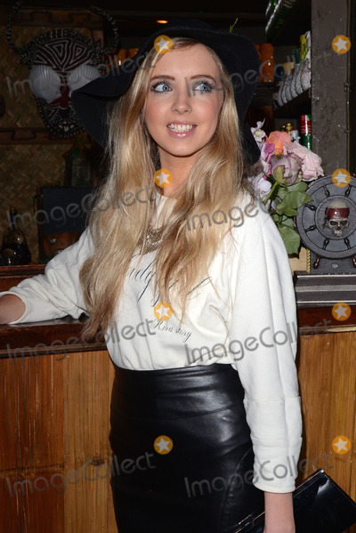 Alice Barlow Photo - London. UK.  Alice Barlow at  Bloggers Love...Secret Garden,  Mahiki.  29th January  2014. 