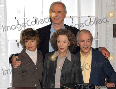 Andrew Sachs, Connie Booth, John Cleese, Prunella Scales Photo - London. UK. Prunella Scales, John Cleese, Connie Booth and Andrew Sachs attend a press conference to announce the release of two special episodes of Fawlty Towers to commemorate the 30th anniversay of the show, to be aired on G.O.L.D on the 10th of May, held at the Navy and Militay Club St James' Square in London, England.  6th May 2009.