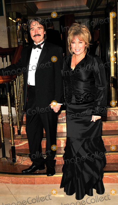 Amanda Redman, Redman Photo - London, UK. Amanda Redman  and guest at the Spirit of Cuba Ball, held at the London Hilton hotel on Park Lane. 15th November 2008.Syd/Landmark Media