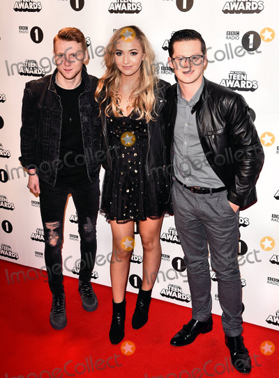 Harry Reid, Jamie Borthwick, Tilly Keeper Photo - London. UK. Jamie Borthwick, Tilly Keeper and Harry Reid at The BBC Radio 1's Teen Awards held at Wembley SSE Arena, Wembley on Sunday 23 October 2016 