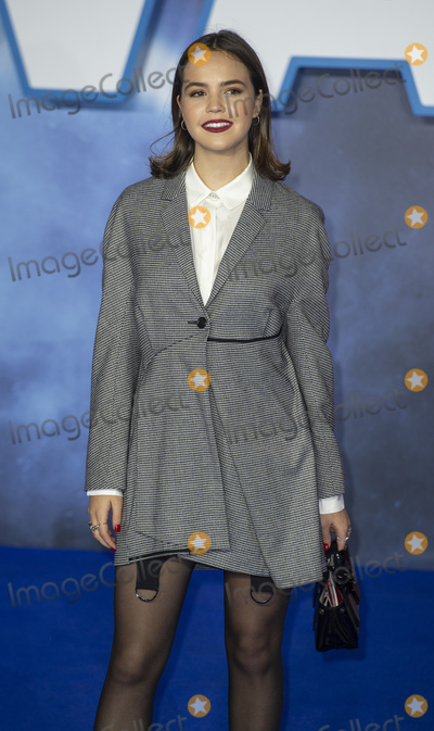 """Bailee Madison, Gary Mitchell, Leicester Square Photo - London, UK. Bailee Madison at the European Premiere of """"Star Wars: The Rise of Skywalker"""" at Cineworld Leicester Square on December 18, 2019 in London, England.Ref: LMK386-J5951-201219Gary Mitchell /Landmark Media  WWW.LMKMEDIA.COM."""