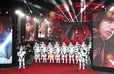 Albert Hall Photo - London, UK. Atmosphere at Star Wars Episode VIII: The Last Jedi European Premiere at the Royal Albert Hall, Kensington Gore, London on Tuesday 12 December 2017Ref: LMK73-J1294-131217Keith Mayhew/Landmark MediaWWW.LMKMEDIA.COM