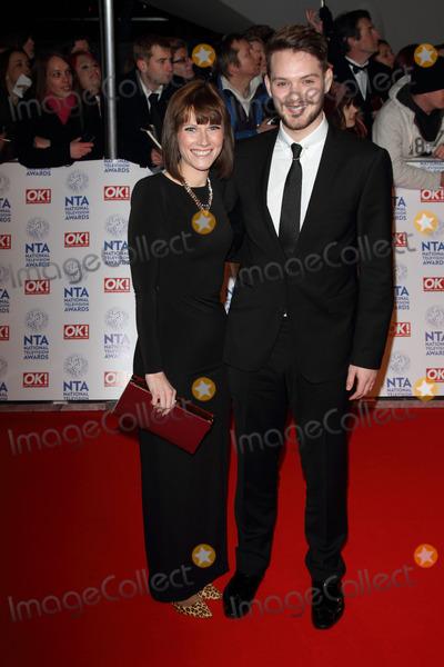 John Whaite Photo - London, UK. 230113.John Whaite and Cat Dresser at the National Television Awards held at the O2 Arena. 23 January 2013.                                                                                                                                                                                                                                                                                                                                                                                                                                                                                                                                                                                                                                                                                                                  Keith Mayhew/Landmark Media