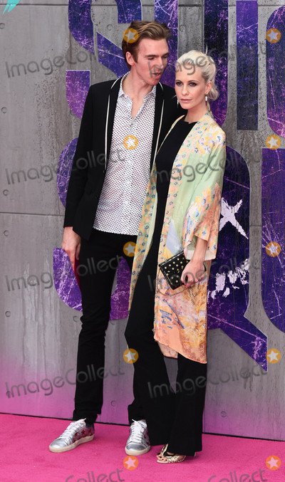 Poppy Delevingne, James Cook Photo - London, UK. James Cook and Poppy Delevingne at the European Premiere of 'Suicide Squad' at the Odeon Leicester Square, London on August 3rd 2016