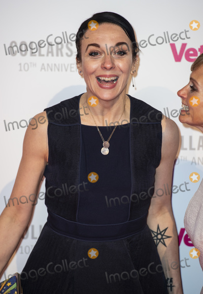 Amanda Abbington, Gary Mitchell Photo - London, UK. Amanda Abbington at the Battersea Dogs & Cats Home Collars & Coats Gala Ball 2018 at Battersea Evolution on November 01, 2018 in London, England