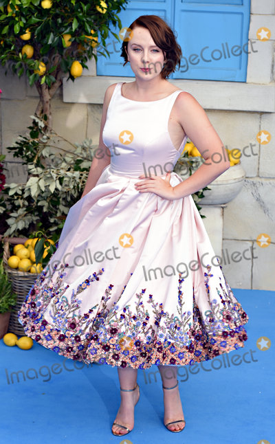 Alexa Davies Photo - London, UK.  Alexa Davies at The World Premiere of Mamma Mia: Here We Go Again held at Eventim Apollo, Hammersmith on Monday 16 July 2018.Ref: LMK392-J2320-170718Vivienne Vincent/Landmark Media. WWW.LMKMEDIA.COM.