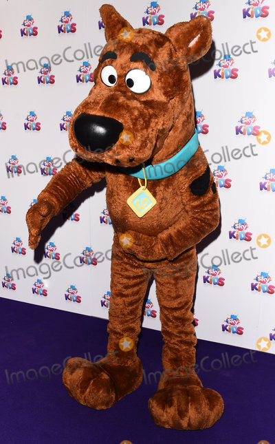 Scooby Doo, Scooby-Doo Photo - London, UK. Sky Kids character - Scooby Doo   at The Sky Kids Cafe Launch Party held at The Vinyl Factory, Marshall Street, London on Sunday 29 May 2016. 