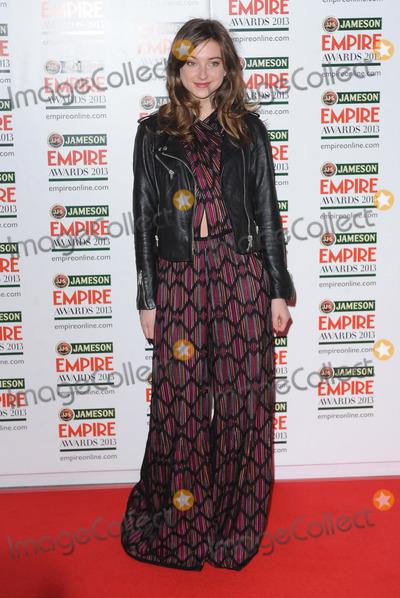 Antonia Clarke, Antonia Clark Photo - London. UK.  Antonia Clarke   at the Jameson Empire Film Awards. Grosvenor House. London. 24th March 2013. Landmark Media