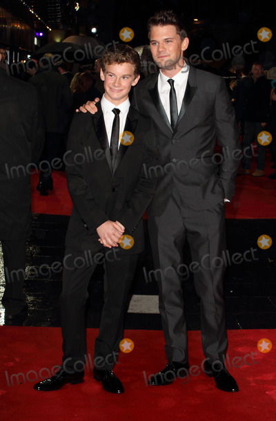 Jeremy Irvine, Leicester Square Photo - London, UK. Toby Irvine and Jeremy Irvine at the BFI London Film Festival Closing Gala 'Great Expectations' at the Odeon Leicester Square. 21st October 2012.Keith Mayhew/Landmark Media