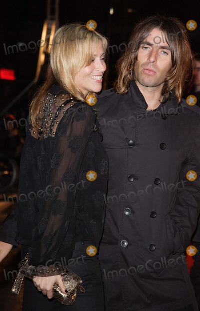 Liam Gallagher Oasis With His Wife Nicole Appleton All Saints At The Uk Premiere Of Shine A Light Odeon Leicester Square London