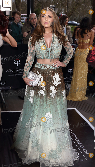 Abi Clarke Photo - London, UK. Abi Clarke at the Asian Awards 2016. Grosvenor House Hotel Park Lane. 8th April 2016. 