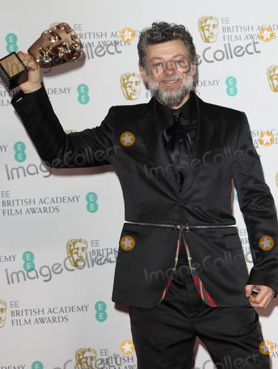 Andy Serkis, Albert Hall Photo - London, UK. Andy Serkis at BAFTA British Academy Film Awards - Winners Room - at the Royal Albert Hall, Kensington, London on February 2nd 2020.Ref: LMK73 -J6087-030220Keith Mayhew /Landmark Media. WWW.LMKMEDIA.COM.