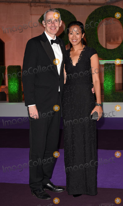 Anne Keothavong Photo - London, UK.Andrew Bretherton, Anne Keothavong at The Wimbledon Champions Dinner held at  Guildhall, Gresham Street, London on Sunday 15 July 2018
