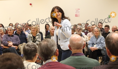 Heidi Allen Photo - Cambourne. Cambridgeshire.  Heidi Allen MP addresses a Public Meeting in her constituency of South Cambridgeshire, at Cambourne Village College today.