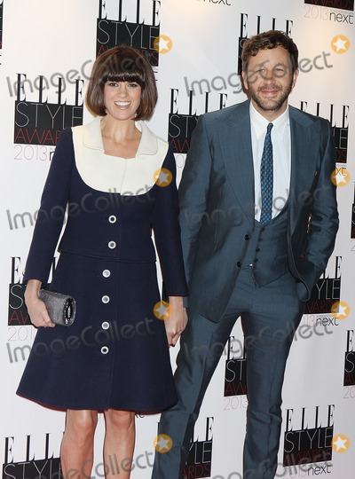 Chris O'Dowd, Dawn Porter Photo - London, UK. Dawn Porter and Chris O'Dowd at the Elle Style Awards Arrivals, held at the Savoy Hotel. 11th February 2013.